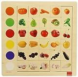 Goula - Observación Colores, Juego Educativo de 30 Piezas (Diset 55134)