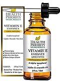 Aceite 100% natural y orgánico de vitamina E para la cara y la piel - 15,000/30,000 IU - Reduce las...