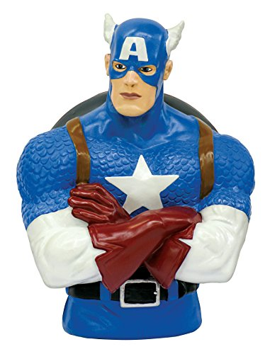 Marvel Captain America Bust Bank