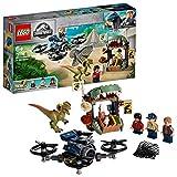 LEGO Jurassic World- Dilofosauro in Fuga Gioco per Bambini, Multicolore, 75934
