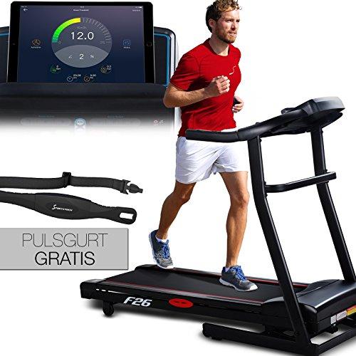 Sportstech F26 Profi Laufband mit Smartphone App Steuerung
