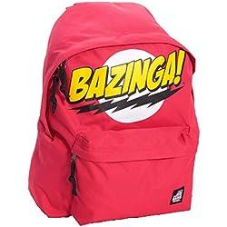 El logotipo de la mochila Big Bang Theory Bazinga