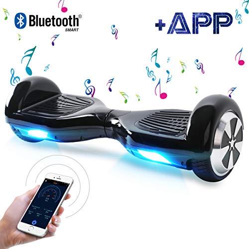BEBK Hoverboard, 6.5' Smart Self Balance Scooter Overboard con Bluetooth, Funzione App,...