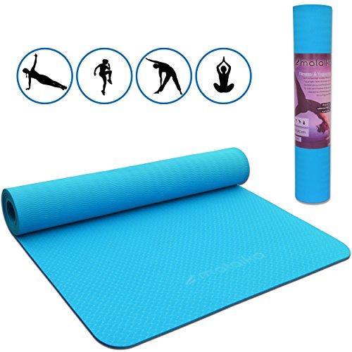 Malaika Yoga e tappetino, Sport Fitness | per Yoga, Pilates, Allenamento Funzionale e molto altro...