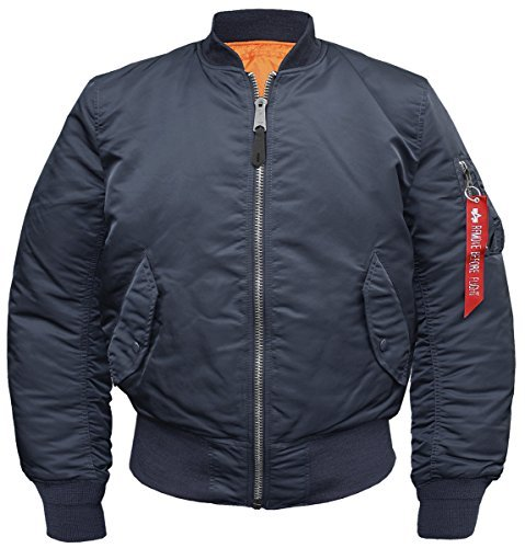 Chaqueta para hombre de Alpha Industries Azul Repl.-Blue Medium