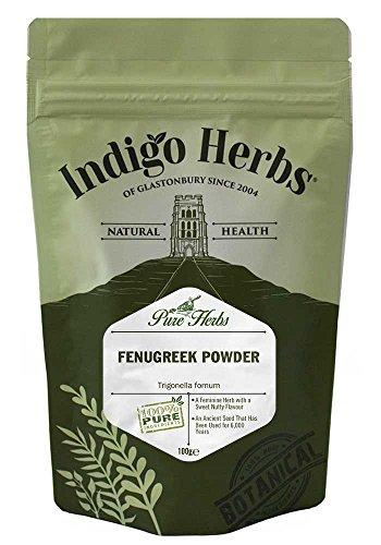 Indigo Herbs Fieno Greco in Polvere, 100 g