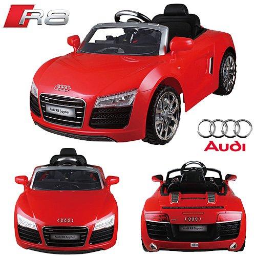 #AUDI R8 Spyder V10 Coupe 12V Kinder Elektroauto Elektro Kinderauto Kinderfahrzeug (Rot)#