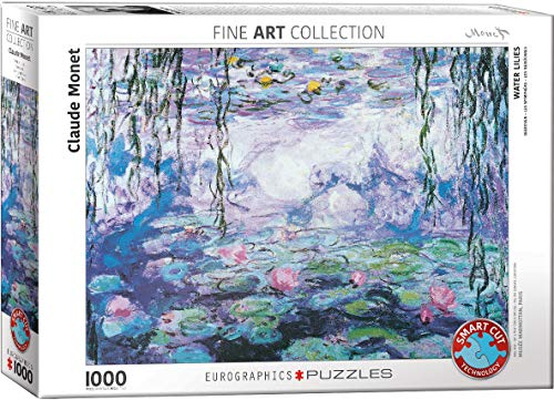 Eurographics 04366 Monet: Le ninfe, Puzzle, 1000 pezzi