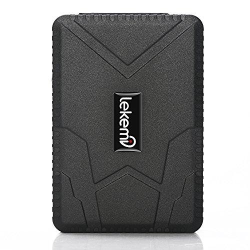 LEKEMI Tracciatore di Posizione GPS Tracker per Auto Veicoli Tramite App Gratuita, Magnete Potente e...