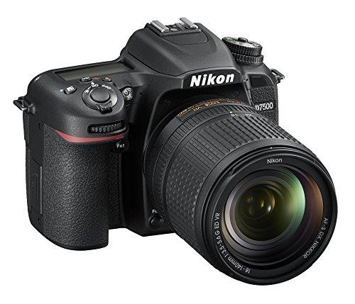 Nikon D7500 Fotocamera Reflex Digitale con Obiettivo AF-S DX NIKKOR 18-140mm f/3.5-5.6G ED VR, 20,9...
