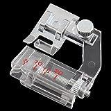 Dealglad®, piedino bordatore regolabile per fettucce, per macchine da cucire domestiche