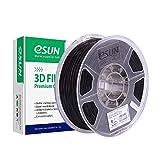 eSUN Filament PLA+ 1.75mm, Imprimante 3D Filament PLA Plus, Précision Dimensionnelle +/- 0.03mm, 1.1 LBS (0.5KG) Bobine Pour Imprimante 3D, Noir