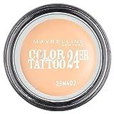 Maybelline New York Color 24H Tattoo Sombra de Ojos, Tono: Creamy Matte Crème de Nude 93