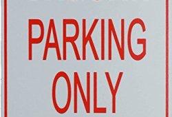 Signes de stationnement JAGUAR – JAGUAR Parking Only Sign Meilleure offre de prix