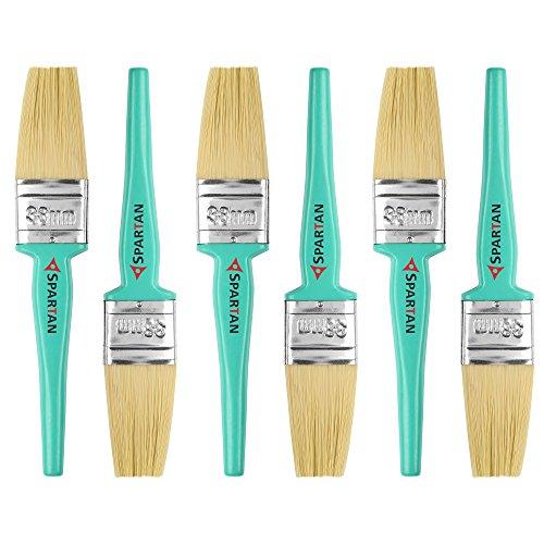 Spartan Paint Brush Multicolour Set of 6 (38 MM)