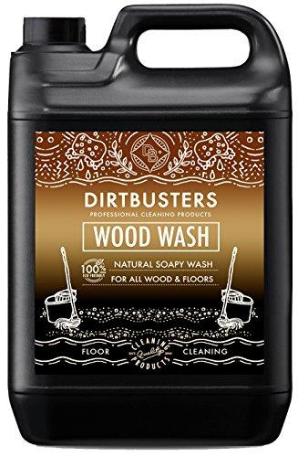 Dirtbusters Eco legno Wash legno naturale e sapone detergente per tutti i pavimenti in legno e legno...