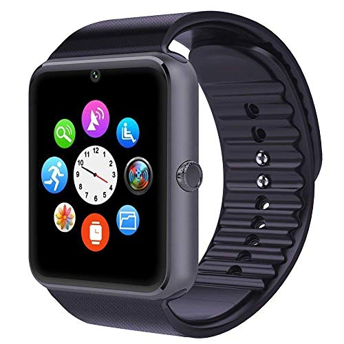 Willful Smartwatch Android iOS Smart Watch Telefono Touch con SIM Slot Notifiche per iPhone Samsung...