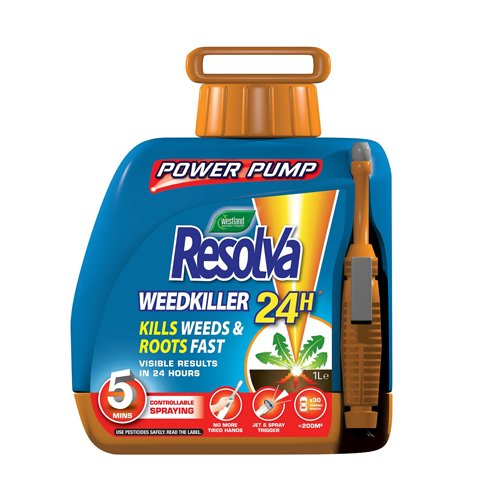 Resolva 24H Ready to Use Power Pump Weedkiller, 5 L