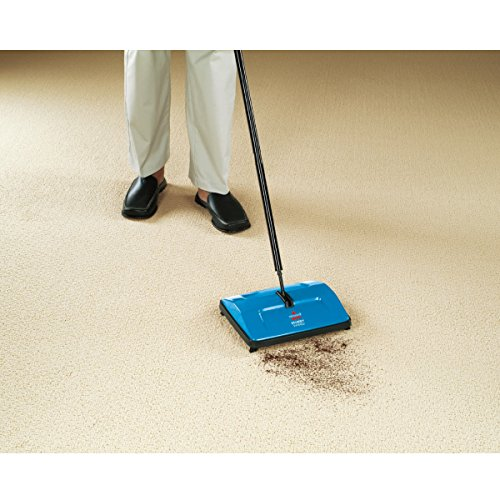 BISSELL 2402E Sturdy Sweep Floor Cleaner - Blue 5  BISSELL 2402E Sturdy Sweep Floor Cleaner – Blue 51w o ZLI9L