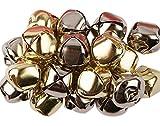 20 Silver & Gold Jingle Bells for Crafts - 20mm   Craft Bells   Arts & Crafts
