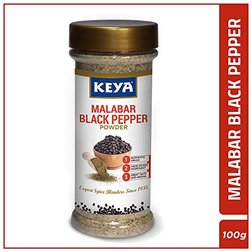 Keya Authentic Malabar Black Pepper Powder, 100 gm