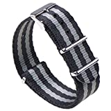 Gemony Nato Strap Premium Ballistic Nylon Watch Band, Larghezza di banda 20mm