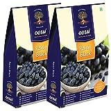 OOSH Seedless Black Raisin (500 Grams - 2 packs of 250g each) | Dry Fruit
