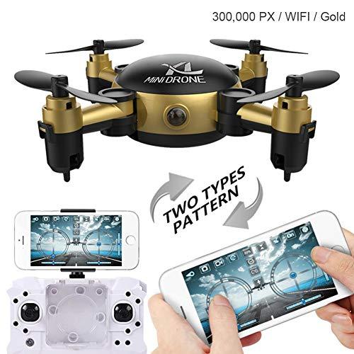 hifuture Mini Drone con Fotocamera S18 Pieghevole Quadcopter Elicottero Giocattolo Aereo,...