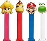Super Mario Pez distributeur avec deux REFILS (vendu à l'unité, un caractère aléatoire fourni)