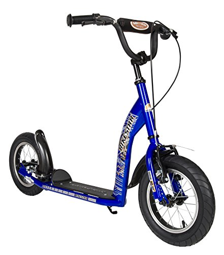 BIKESTAR Monopattino Bambini Scooter 2 Ruote da 7 Anni | 12 Pollici con Ruote Grandi | Paradisiaco...