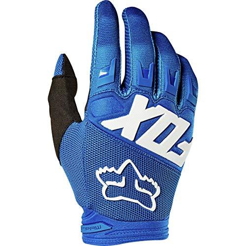 Fox Guanti Dirtpaw Blue, Taglia L