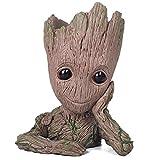 thematys Baby Groot Pot de Fleur - Figurine d'action pour Plantes et stylos du Film Classique - Parfait comme Cadeau - Je s'appelle BÉBÉ Groot (A)
