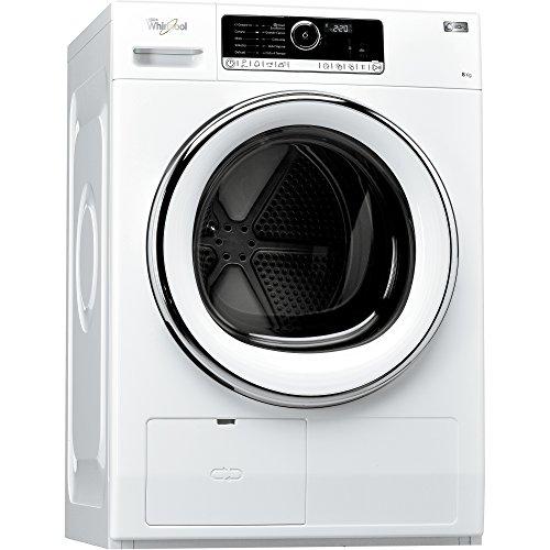 Whirlpool HSCX 80423 Libera installazione Carica frontale 8kg A++ Bianco asciugatrice