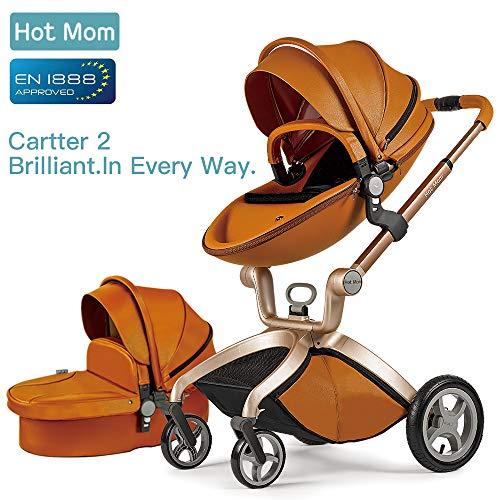 Hot Mom passeggino per bambini marrone,2018