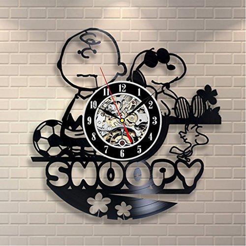 LFF.FF Orologio Da Parete Snoopy Orologio Da Parete Orologio Da Parete Creativo Retrò Per La Decorazione Della Casa. Decorazione Personalizzata Per Bambini