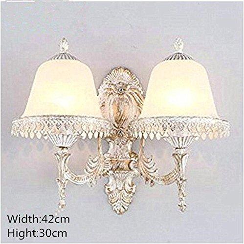 Wand Europäische Retro Nachttischlampe Schlafzimmerlampe Studie Korridor Badezimmer Lichtschalter kommt mit TV Hintergrundbeleuchtung , b1306-2 send 7 watt led bulb