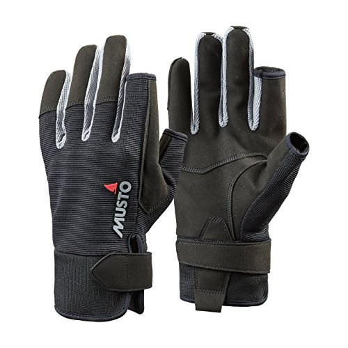 Musto Essential Long Finger Sailing Gloves - 2018 - Black XL