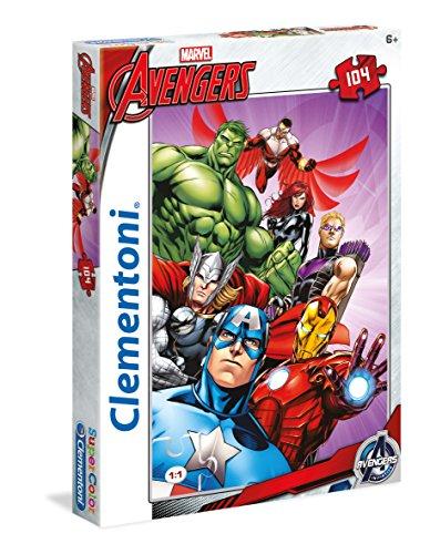Clementoni 27931 - Avengers Puzzle, 104 Pezzi