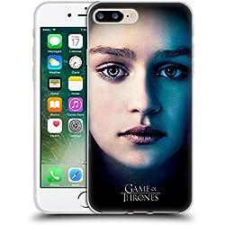 Official HBO Game Of Thrones Daenerys Targaryen Valar Morghulis Soft Gel Case for Apple iPhone 7 Plus