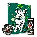 Adventskalender, Weihnachtskalender deines Bundesliga Lieblingsvereins 2018 - Plus gratis Sticker & Lesezeichen Wir Lieben Fußball (Borussia Mönchengladbach Premium)