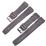 Hongtianyuan 18/20/22mm universale orologio da polso, fascia di ricambio con fibbia in acciaio inossidabile Cinturino orologio da polso classico accessori