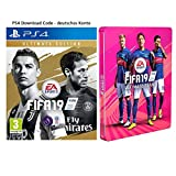 FIFA 19: Ultimate Edition + Steelbook | PS4 Download Code - deutsches Konto