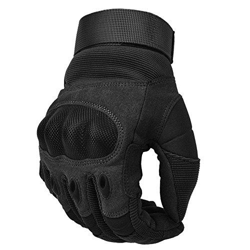 COTOP Motorrad Handschuhe, Touch Screen Hard Knuckle Handschuhe Motorrad Handschuhe Motorrad ATV Reiten Full Fing, 6 Monate Kostenloser Ersatz für Qualitätsprobleme 1