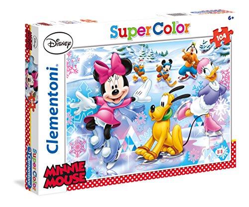 Clementoni 27953 - Puzzle Minnie, 104 Pezzi, Multicolore