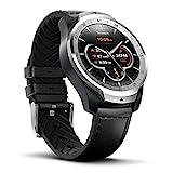 Ticwatch Pro Montre connectée Smartwatch avec cardiofréquencemètre, Affichage Multicouches (Google Assistant, GPS, Wear OS, NFC) Compatible avec Android et iOS