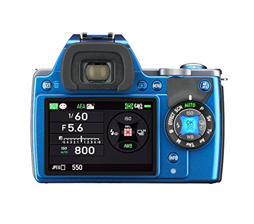 Pentax K-S1 Body - Cuerpo de cámara réflex, azul