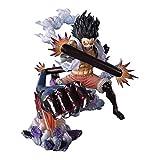 Siyushop One Piece: Singe D Luffy Gear 4 Statue d'une Seule Pièce en Cobra King Snakeman - 6.3 Pouces De Haut