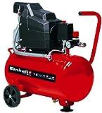 Einhell 4007325 TC-AC 190/24/8 - Compresor de aire, depósito de 24 l, 2850 rpm, 8 bar, 1500 W,...