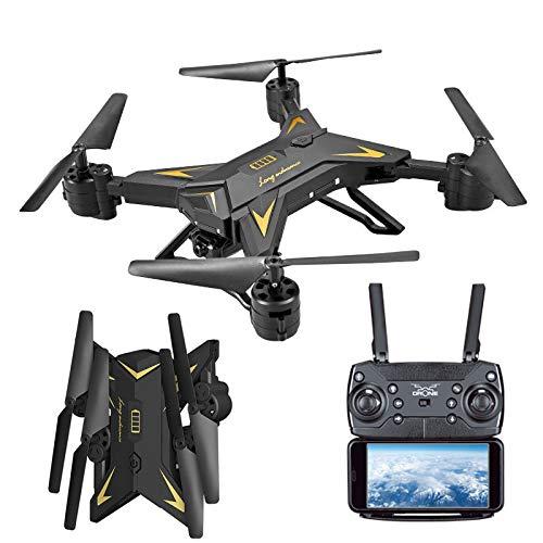 JERFER Pieghevole WiFi FPV Rc Quadcopter Drone con 1080P 5.0 MP Fotocamera Selfie Drone