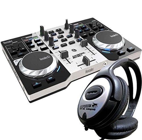 Hercules DJ Control Instinct S Serie de 2Deck controlador + Auriculares Keepdrum